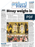 Manila Standard Today -- Monday (September 24, 2012) issue
