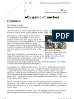 Japan's Deadly Game of Nuclear Roulette 2004-05-23 (!!!)