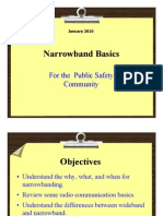 Narrowband Basics Presentation