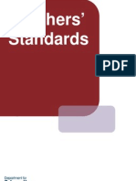 Teachers Standards From September 2012