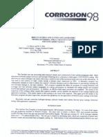 Corrosion 98 Paper - TSA Coating Testing
