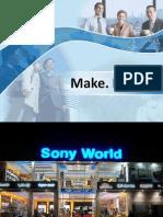 Sony 4P's of Marketing - Marketing Mix