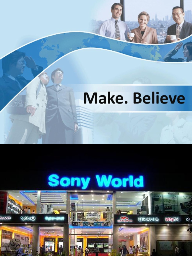 sony's marketing strategy Marketing strategy of sony corporation concept marketing strategy: strategic management decisions have multifunctional and multi-business consequences, this kind of decision require broad consideration of the firm's external and internal environments, and it may affect the firm's chance of prosperity.