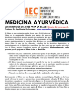 Extracto Curso Medicina Ayurvedica-el Ghee