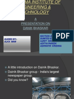 Ppt+Dainik+Bhaskar