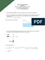 Taller calculo maximos y minimos