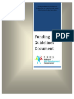 Funding Guidelines 2012