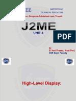 j2me unit - 4