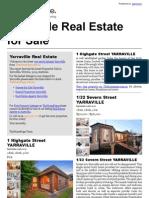 Yarraville Real Estate for Sale