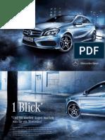 Mercedes-benz-A-class-w176 Brochure 01 2102 de de 05-2012