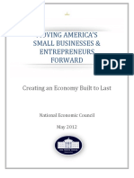 Obama Administration's Moving Small Business Forward