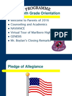 2012+Eighth+Grade+Orientation+Ppt++ +Class+of+2016