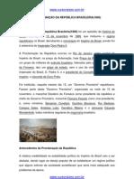 A Proclamação da República Brasileira