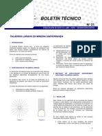 Boletin Nº21 TALADROS LARGOS-EXSA