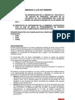 Enmiendas de sustitución de los despidos en el Ayuntamiento de San Martín de la Vega