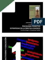 psicologia cognitiva estrategias en la práctica docente
