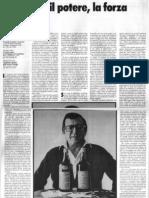 Umberto Eco - La Lingua, Il Potere, La Forza - Alfabeta n.1 Maggio 1979