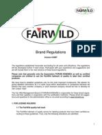 FairWild Brand Regulations English