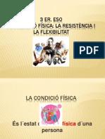 PRESENTACIO PPT CONDICIÓ FÍSICA 3 ER. ESO