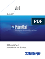 PetroMod Published Studies April2012