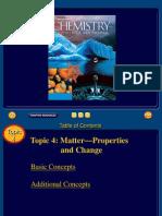 Ch 3 Matter Properties and Change