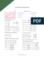 Formulas Trigonomentricas