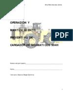 Manual de operación y Mantenimiento 994H PC PDF