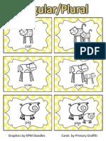 Singular Plural Cards