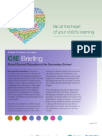 CfE Briefing for Parents