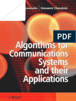 Algorithms for Communications Systems & Their Applications