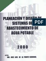 107521_Planeacion y Diseno de Sistemas de Abastecimiento de Agua Potable