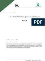 A Nova Política de Substâncias Químicas da União Européia