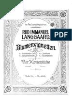 Langgaard - Blumenvignetten
