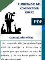 Habilidades Del Comunicador Eficaz