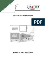 Manual do Usuário EX-03 - Eletrocardiógrafo
