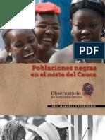 Poblaciones Negras en El Norte Del Cauca