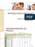 Intorduccion a MS Project