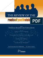 Roots of Youth Violence - Part 1 - Findings, Analysis and Conclusions