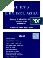 5-Nueva Ley Agua