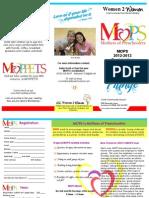 2012-13 MOPS Brochure