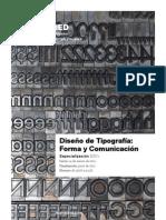 E Diseno Tipografia Forma Comunicacion IEDMadrid