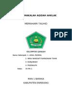 MAKALAH AQIDAH