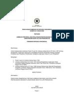 Pp_no_54_th_2000 Ttg Lembaga Penyedia Jasa Pelayanan Penyelesaian Sengketa Lingkungan Hidup Di Luar Pengadilan