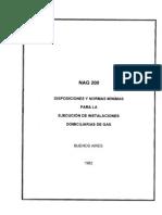 ENARGAS - Reglamento Gas Vigente 2012