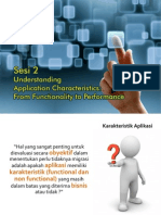 Sesi 2 Understanding Application Characteristics From Functionality to Performance