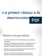 Un Vistazo a La Macroeconomia