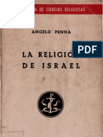Penna, Angelo - La Religion de Israel