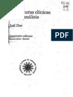 Dor, Joel - Estructuras clínicas_psicoanálisis
