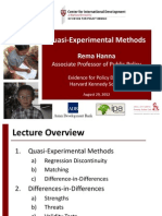 J. Lecture 6_Quasi-Experimental Methods