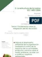 Estructura de La Norma ISO 14001 2004 Sf